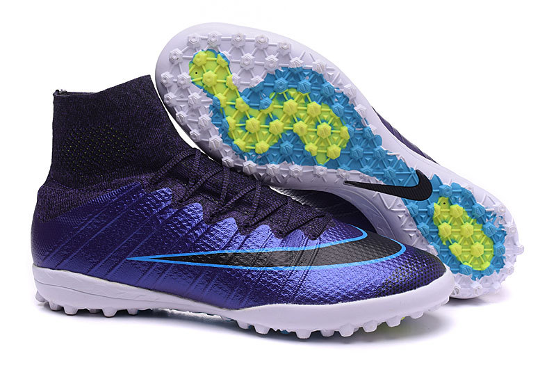 9315439f6111 Prev Nike Mercurial x Proximo TF Turf Soccer Boots Shoes Blue Black Volt  718775-400. Zoom