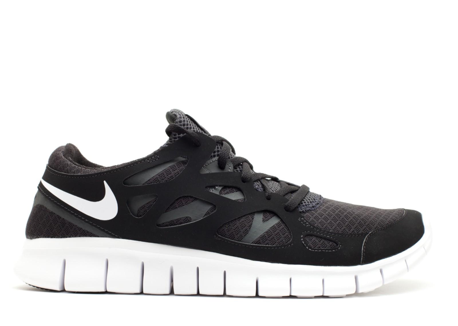 separation shoes 5f22e 48488 Prev Free Run 2 White Black Anthracite 443815-010