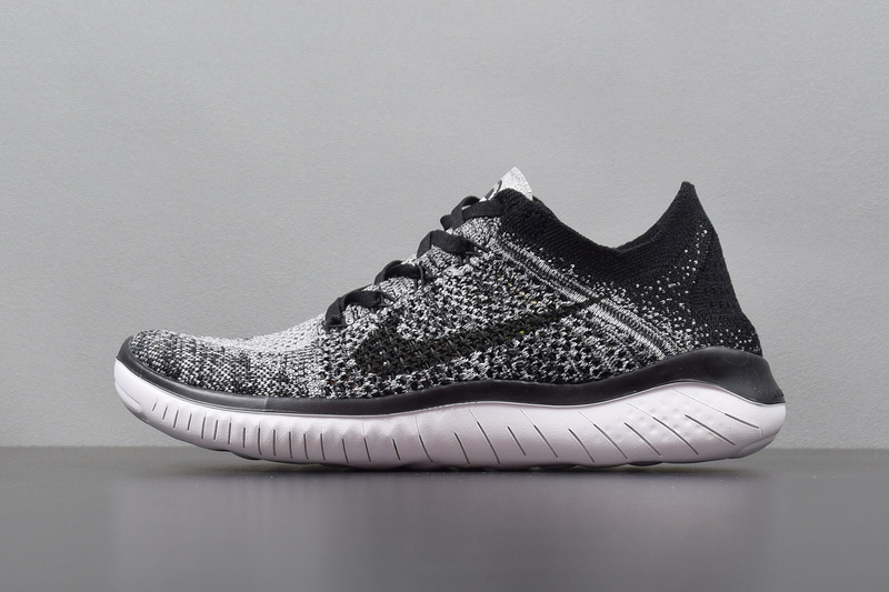 hot sale online e87b9 8d646 Prev Nike Free RN Flyknit 2018 Mens Running Pure Platinum Black ...