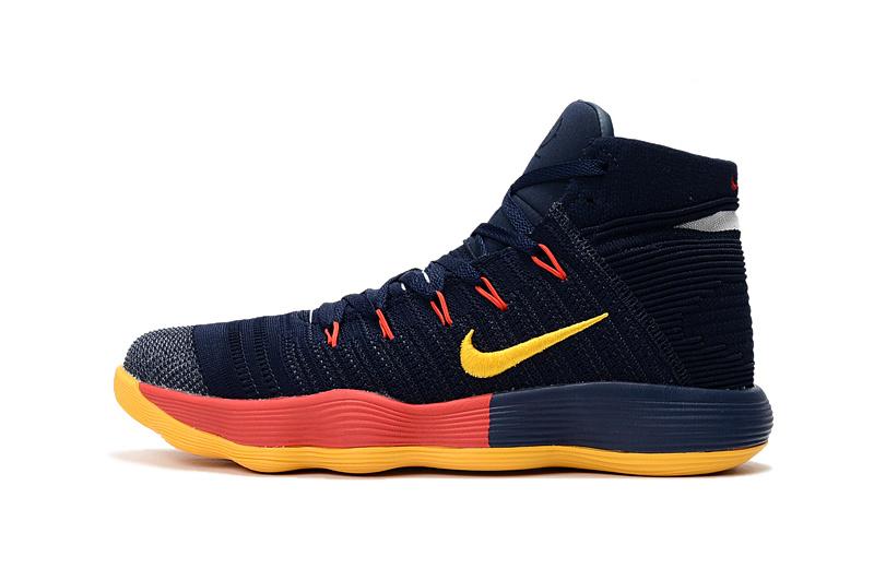 0e65ead5ed3b CLICK IMAGE TO ENLARGE. Nike Hyperdunk Youth Big Kid Basketball Shoes Dark  Blue Yellow Orange