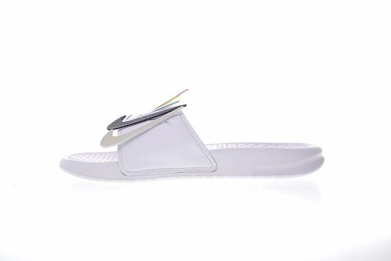 9f675f68fc7 Prev Nike Benassi JDI LTD Velcro QS Slides Swoosh Pack White AQ8614-100.  Zoom