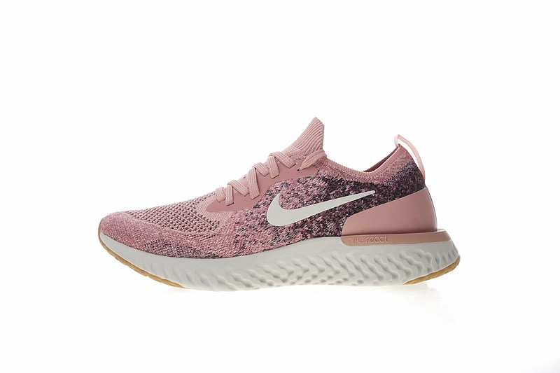 Prev Nike Epic React Flyknit Powder Rice White Running Shoes AJ7286-661.  Zoom 3c08a7696