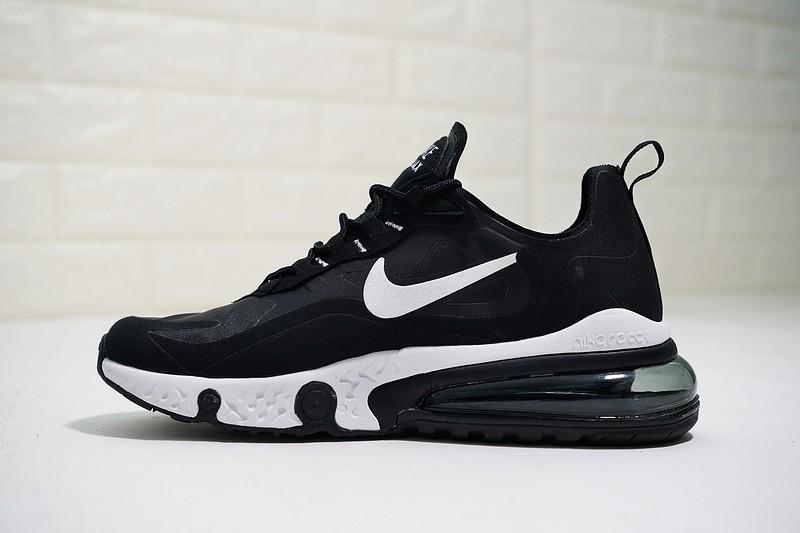 e4197f449c8ea Nike React Air Max White Black Running Shoes AQ9087-010 - Febbuy