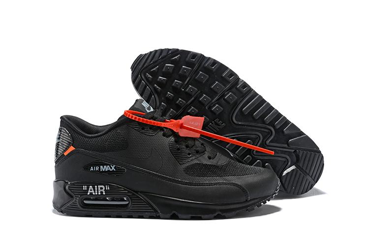 a636cfaf5a Prev OFF WHITE x Nike Air Max 90 Black All. Zoom