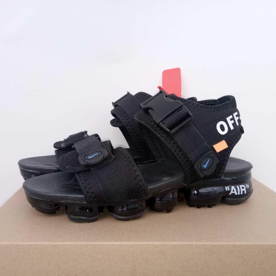 2e00669d814 Off White X Nike Design Men Sandals Shoes Black All - Febbuy