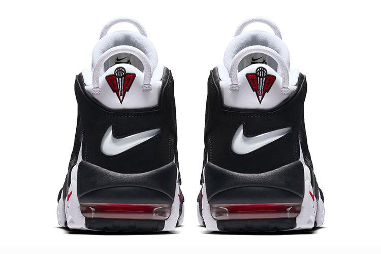 53ddfcb551877 ... Nike Air More Uptempo Pippen black white panda Men Women Shoes  414962-105