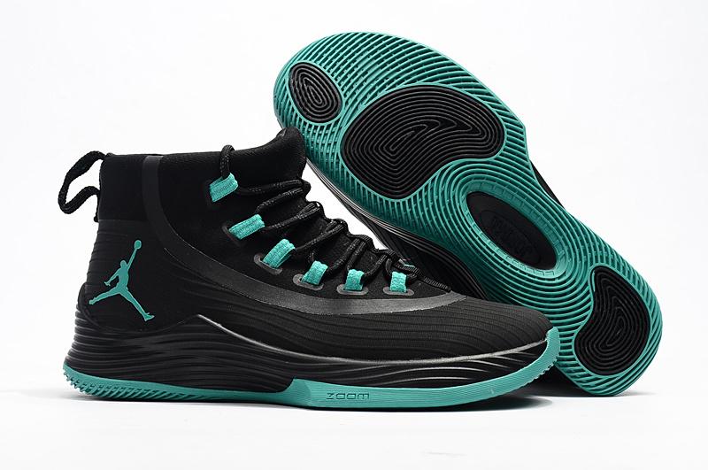 94ebae59b07f Prev Nike Air Jordan Ultra Fly 2 Black Green Mens Basketball 2017 All NEW  897998. Zoom