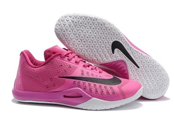 the latest 64db9 78e94 Prev Nike Hyperlive EP Men Basketball Shoes Breast Cancer Vivid Pink Black  820284-606. Zoom