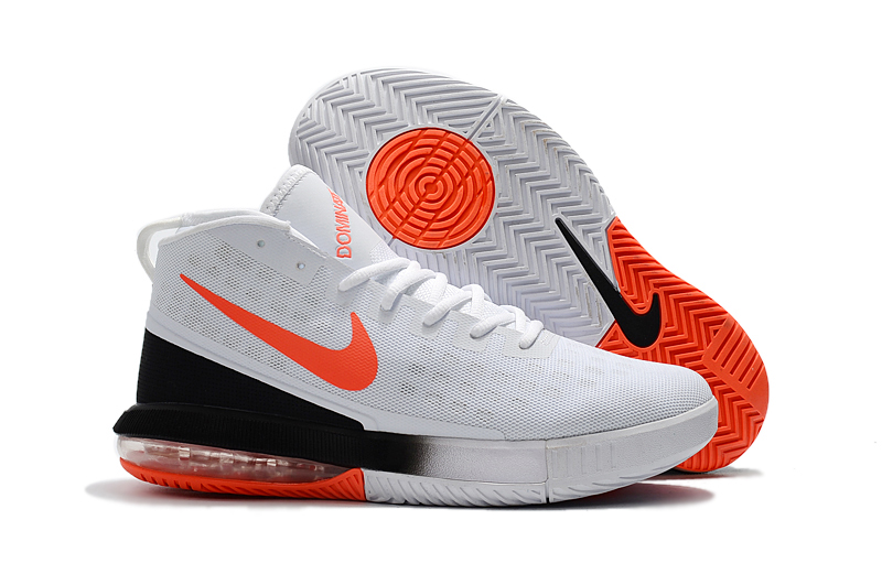 2018 Dominate Ep Shoe Nike Orange Max White Men Black Air Basketball I7Yfbgyv6