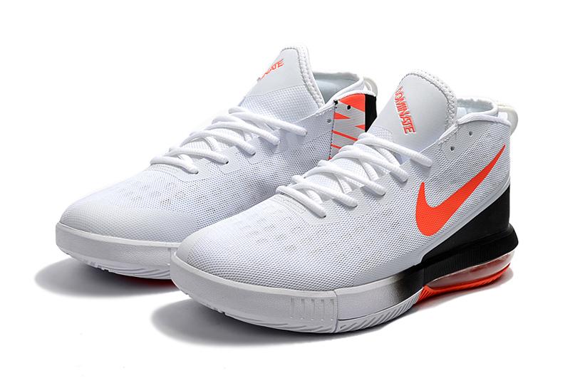 5ecd7920b4 2018 NIKE AIR MAX DOMINATE EP Men Basketball Shoe White Orange Black ...