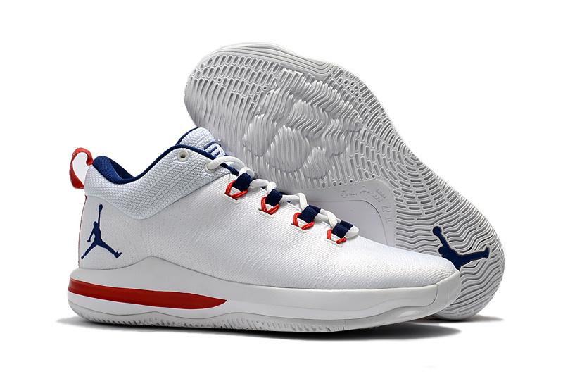 check out 6a0d4 7f060 Prev Nike Air Jordan CP3 X Elite Men Basketball Shoes White Blue Red  897507. Zoom