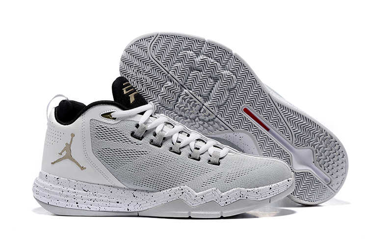 Prev Nike Jordan CP3 IX 9 AE Men Shoes White Black Platinum Metallic Copper  Coin 833909- a016f6e97