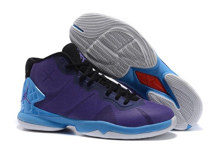 f6ddd911b80f9 Prev Nike Air Jordan Super Fly 4 Blake Griffin Men Basketball Shoes Purple  Royal Blue Black 768929