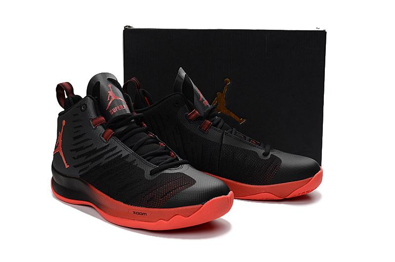 "87169e9d681f ... ""Infrared 23""  authorized site 1e177 f5c2d Nike Jordan Super Fly 5  Blake Griffin Men Basketball Shoes Sneakers Black ..."