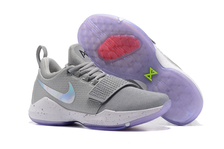 cheap for discount 9cd93 d1d65 Nike Zoom PG 1 EP Paul Jeorge Year One gray white Men Basketball Shoes  878628-900