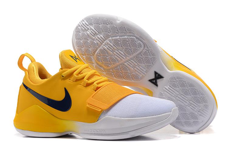 157e08e1d1f7 Prev Nike Zoom PG 1 blue white Men Basketball Shoes 878628-009. Zoom