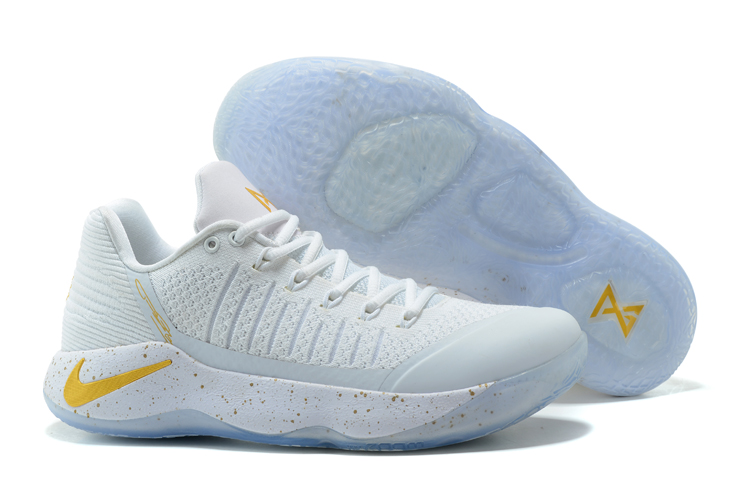 online store eb84a b1fa9 Nike Paul George PG2 Men Basketball Shoes Light Grey Yellow 878618