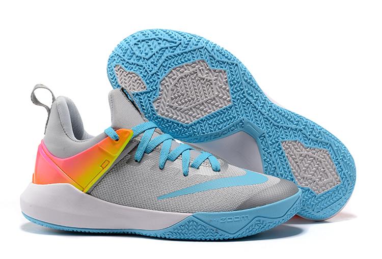 3d1d34a0affe Prev Nike Zoom Shift Men Basketball Shoes Grey Blue White 897653. Zoom