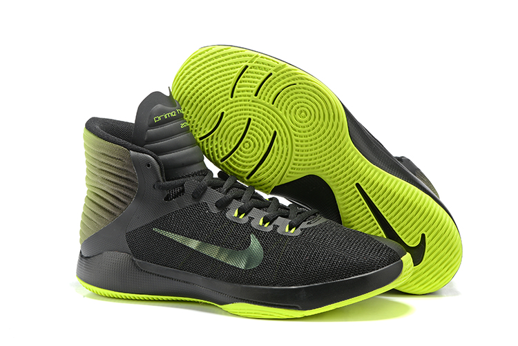 63e43110b58e Prev Nike Prime Hype DF 2016 EP Black Green Mens Basketball Shoes 844788
