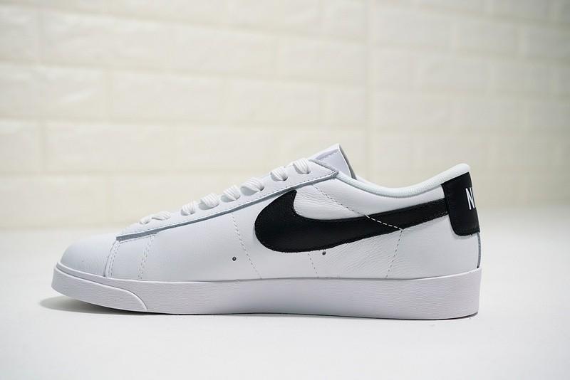 5a6fe531938 Prev Nike Blazer Low LE Premium White Black AA3961-111. Zoom