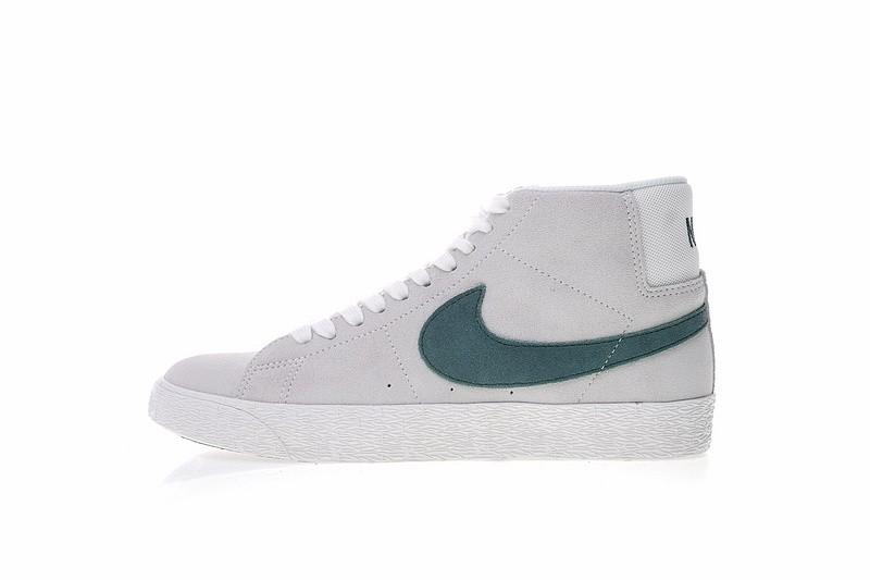 10cd48d77e8f4 Prev Nike SB Zoom Blazer Mid Canvas White Cedar Dark Green Grey AH6416-117.  Zoom