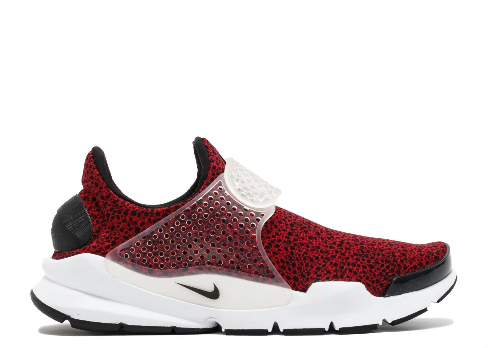wholesale dealer 2e92c 268c7 Nike Sock Dart Qs Safari Pack Gym Black White Red 942198-600
