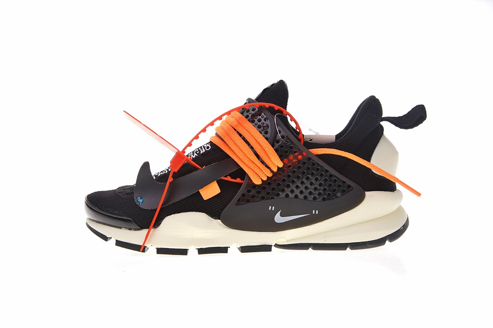 big sale c5b4b 2cd54 Prev Off White x Nike La Nike Sock Dart Black White Orange 819686-053