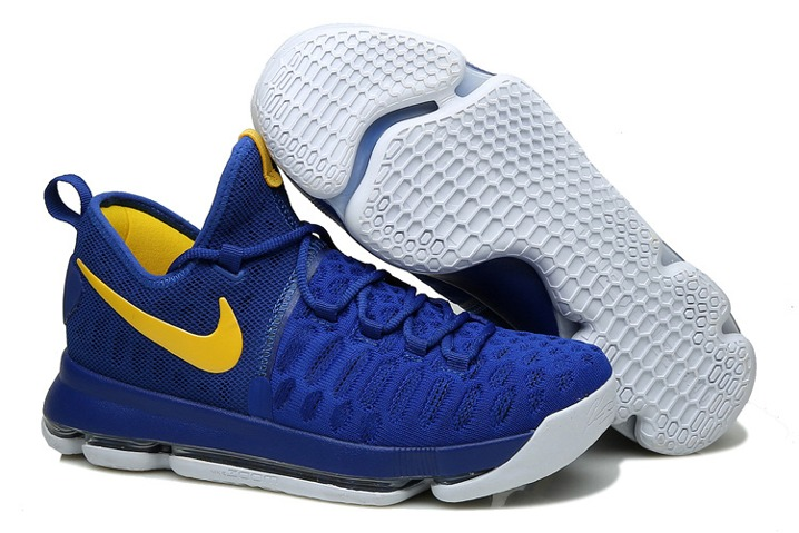 4b24f29a752d Prev Nike KD 9 Kevin Durant Men Basketball Shoes Sneakers Royal Blue Yellow  843392. Zoom