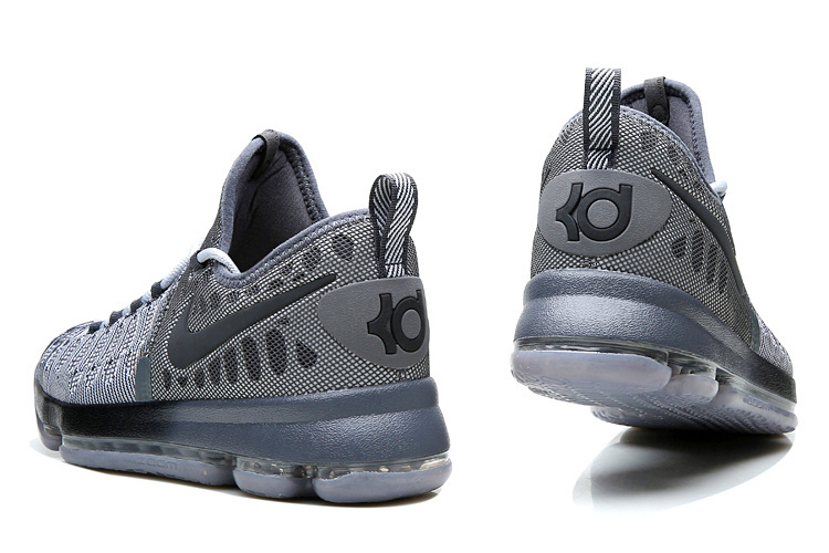 56690b8e42d8 ... Nike Zoom KD 9 EP IX Battle Grey Kevin Durant Men Basketball Shoes  844382-002