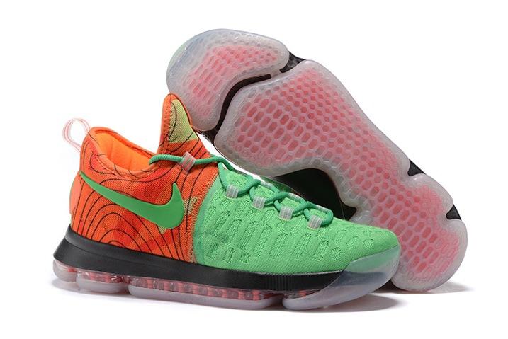 b4cfcd560095 Prev Nike Zoom KD 9 EP IX Kevin Durant Men Basketball Shoes Green Orange  843392. Zoom
