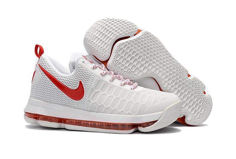 the latest a43c5 eb67c Prev Nike Zoom KD 9 EP IX White Red Men Shoes KPU. Zoom