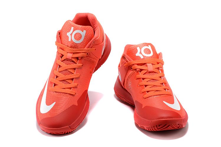 91808dee4f6f Nike Zoom KD Trey 5 IV Red Men Basketball Shoes 844573-616 - Febbuy