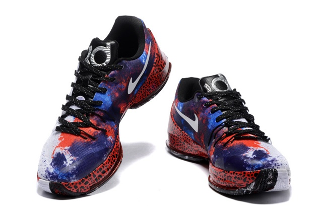 a007d93f641b ... Nike KD 8 VIII Xmas Christmas Kevin Durant Mens Shoes White black  Crimson 822948-106 ...
