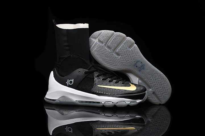 Prev Nike KD 8 Elite Away VIII Men Basketball Shoes High Black Gold Edition  834185-071. Zoom 5ca99129d
