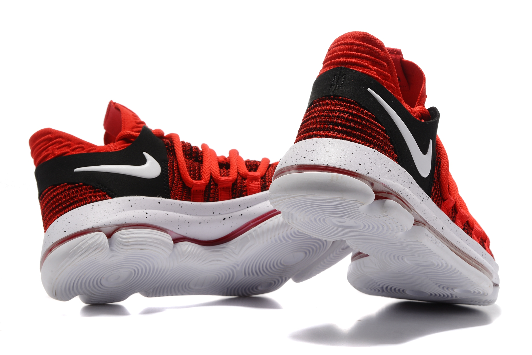 54e37574ce8ebd Nike Zoom KD X 10 Men Basketball Shoes Chinese Red White Black - Febbuy