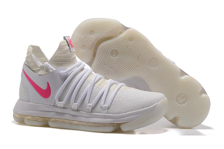 cb5b3171fe9d Prev Nike Zoom KD X 10 Men Basketball Shoes Light White Red. Zoom