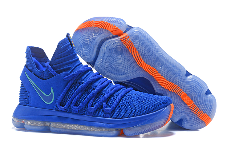 b724ad943f13 Prev Nike Zoom KD X 10 Men Basketball Shoes Royal Blue Orange New. Zoom