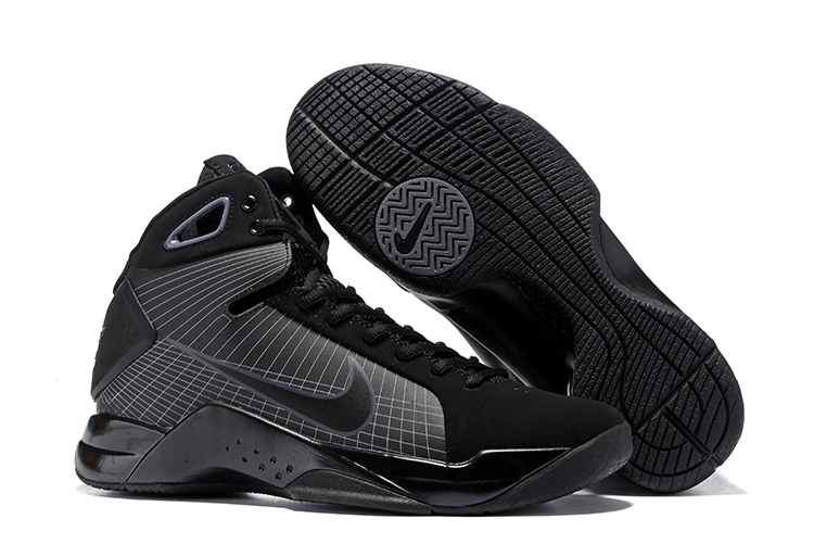 62d83a486a40 Prev Nike Zoom Kobe IV 4 High Men Basketball Shoes Sneaker Pure Black Grey.  Zoom