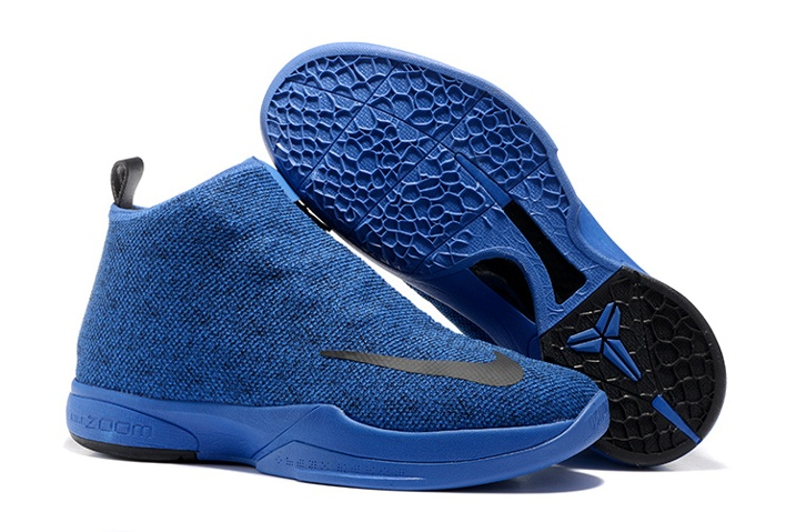 best sneakers 409fd 97f5a Prev Nike Zoom Kobe Icon Jacquard Men Casual Shoes Cobalt Blue Black 818583.  Zoom