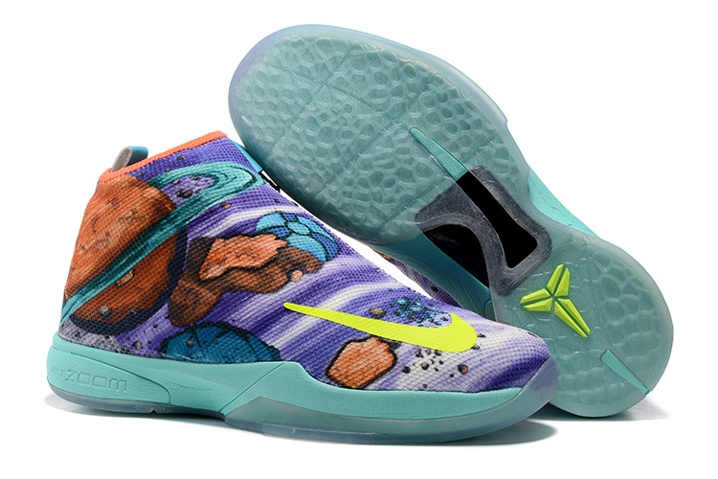 24775c298238 Prev Nike Zoom Kobe Icon Jacquard Men Casual Shoes Easter Purple Blue Green  Multi Color 818583. Zoom
