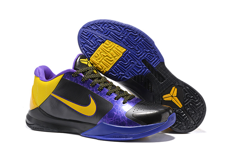 pretty nice afa32 eb3ef Prev Nike Zoom Kobe V 5 Low Colorful Black Purple Yellow Men Basketball  Shoes 386429-071. Zoom