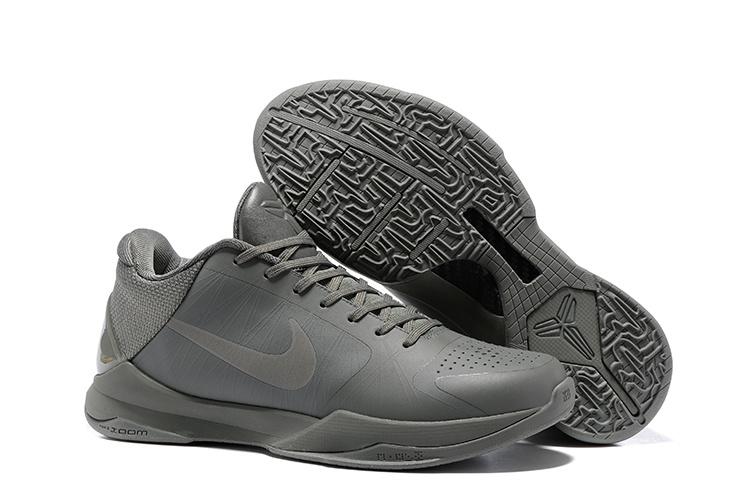 competitive price d9c1f c99c7 Prev Nike Zoom Kobe V 5 Low FTB Fade To Black Grey ...