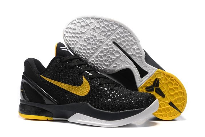 buy online 661bf d41ab Prev Nike Zoom Kobe VI 6 Imperial Purple Yellow Men Basketball Shoes Lakers  Asg White LA ASG. Zoom