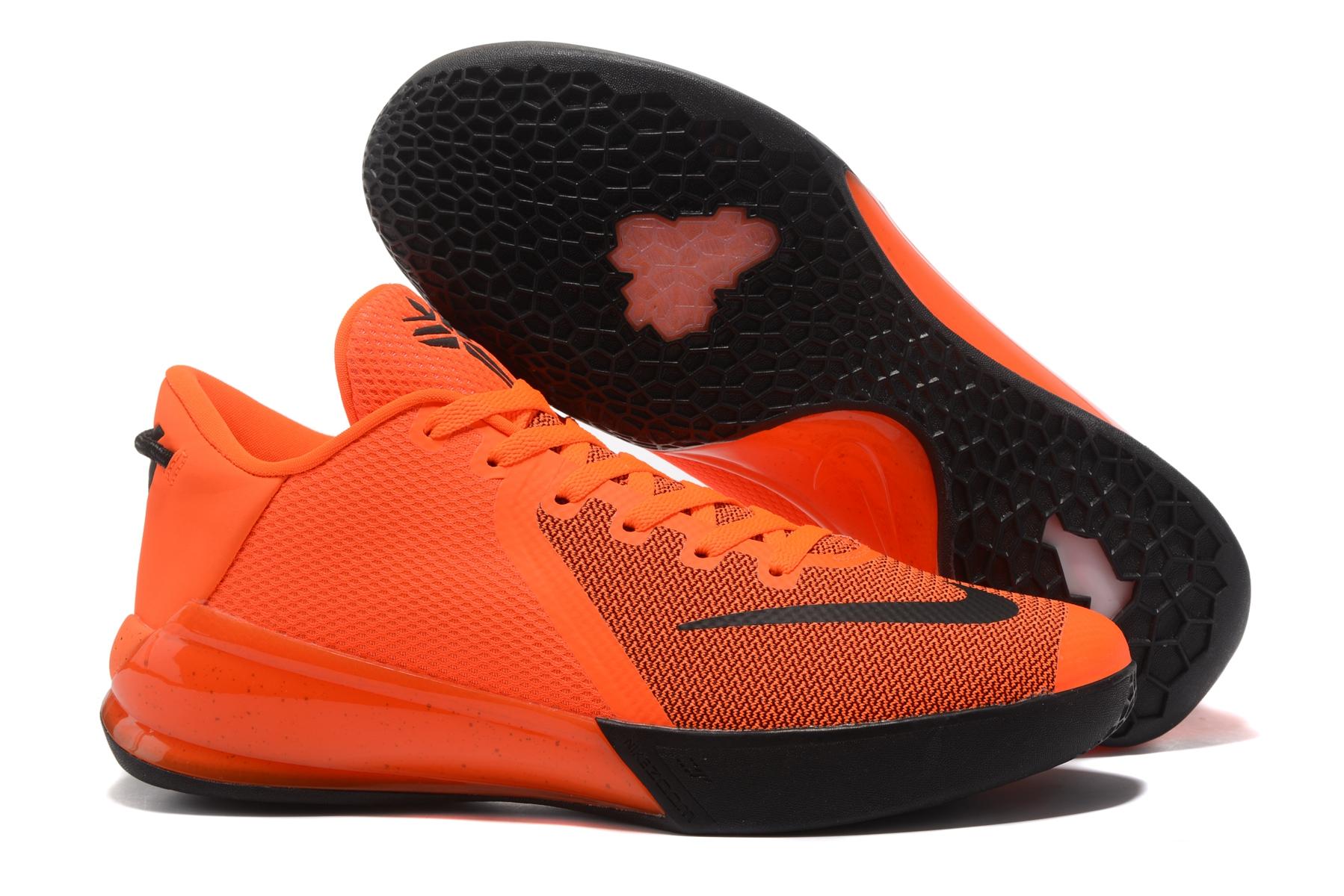 Nike Zoom Kobe Venomenon VI 6 Men Basketball Shoes Orange Black
