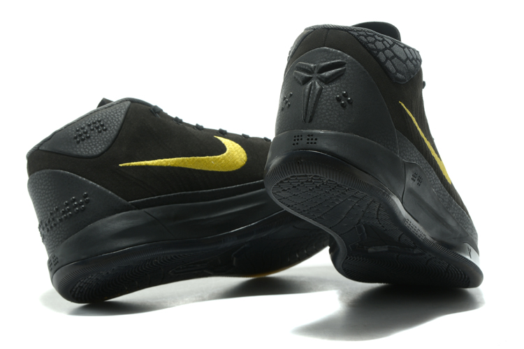 6b579cd399637c ... Nike Zoom Kobe XIII 13 A.D. Men Basketball Shoes Black Yellow 852425