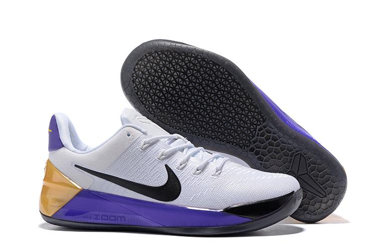 eee0c64fef6d Prev Nike Zoom Kobe AD EP White Black Purple Golden Men Shoes. Zoom