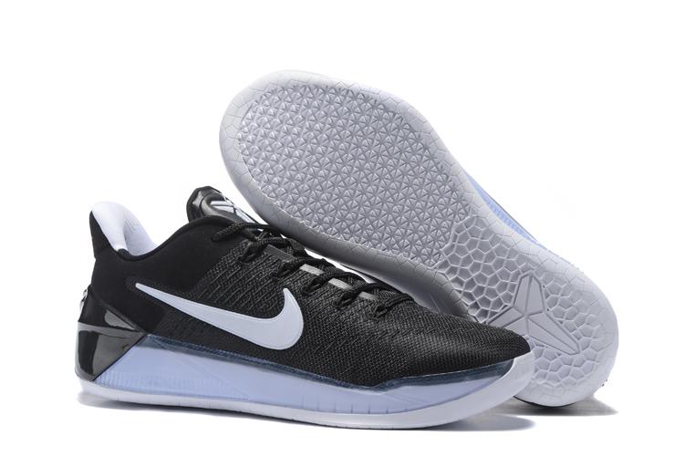 online retailer 8fc8e 31e22 Nike Zoom Kobe 12 AD Black White Men Basketball Shoes