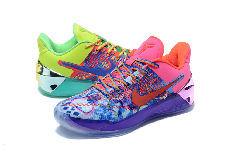 the best attitude 353e9 716b6 Nike Zoom Kobe 12 AD Rainbow Colors Men Shoes - Febbuy