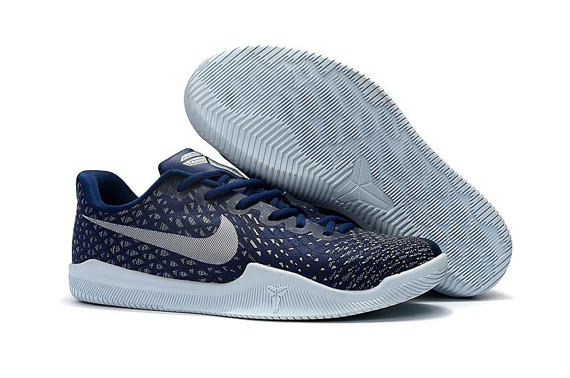 timeless design d7651 4f18c Nike Kobe Mentality 3 Men Shoes Sneaker Basketball Gridding Navy ...