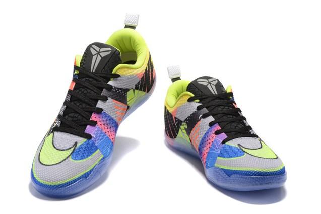 free shipping 73933 d19f7 Nike Kobe 11 Elite Low All Star Orange Black Green Multi Color Men  Basketball Shoes 822675